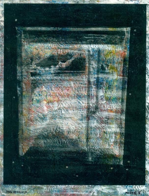 """""""Living Room Deinstallation, Phase V"""" (back)"""